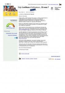 Tax-on-Web_Lettre du Ministre des Finances délai IPP revenus 2014